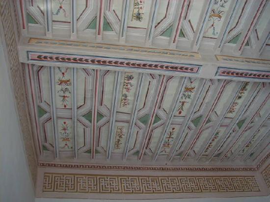 Trevi, Italien: frescos ceiling
