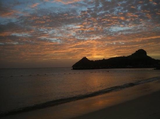 The Landings St. Lucia: Amazing sunset