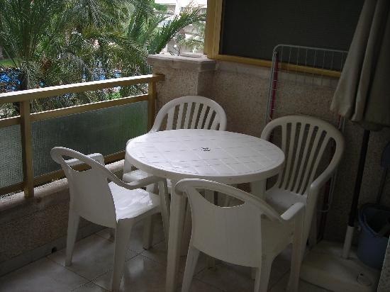 Ona Jardines Paraisol: le balcon