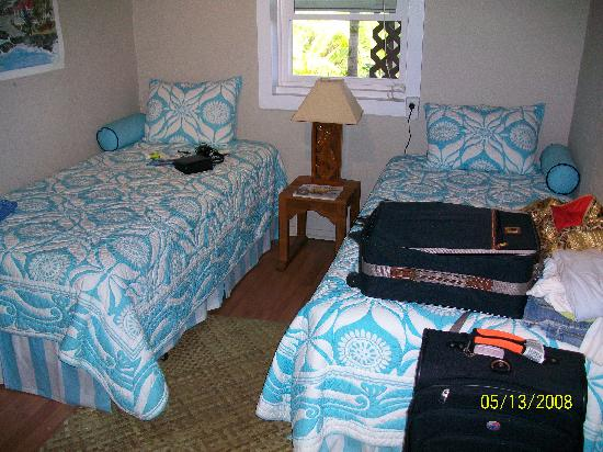 South Kona Hideaway: 2nd Bedroom in the Lanai.