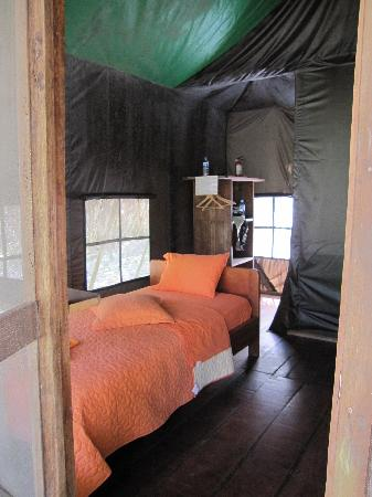 Huaorani Ecolodge: Inside of the Cabin