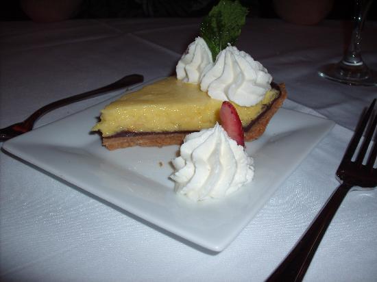 The Restaurant at La Te Da : Black bottom Key Lime Pie: simply the best
