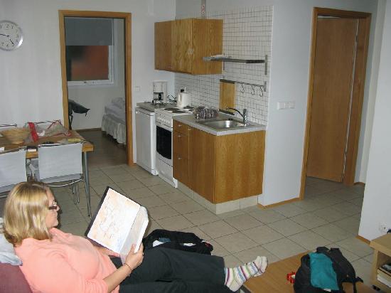 Guesthouse Frumskogar: apartment inside