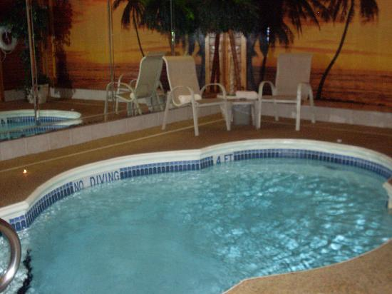 Sybaris Indianapolis: Our heated pool