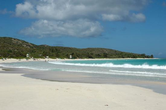 Culebra Beach Villas: Flamenco Beach view