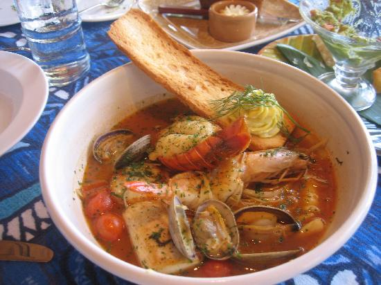 Bouillabaisse picture of mama 39 s fish house paia for Mamas fish house lunch menu