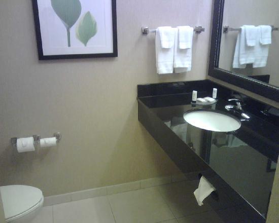 Fairfield Inn & Suites Cleveland: Bath