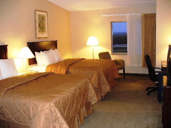 Comfort Inn Mercer: Nice room but not a nice pet smell