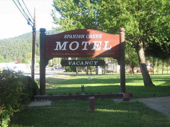 Quincy, Californien: spanish creek motel