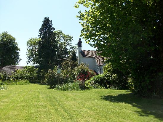 Stapleton Cottage : The beautiful gardens at Stapleton House
