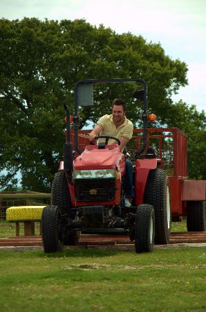 Colemans Farm Park: FAncy driving a tractor?