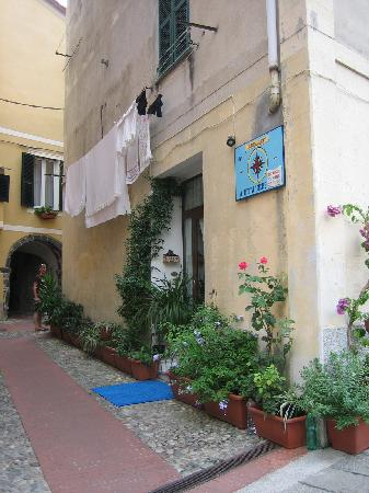 la rosa dei venti : View of the hotel