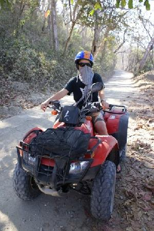 Tropical Pasta: Quadbiking adventures
