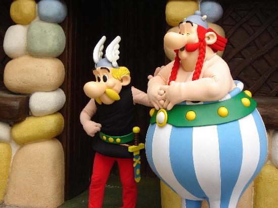 Parc Asterix: astérix et obélix
