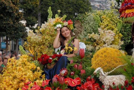 Belmond Reid's Palace: Flower festival 1