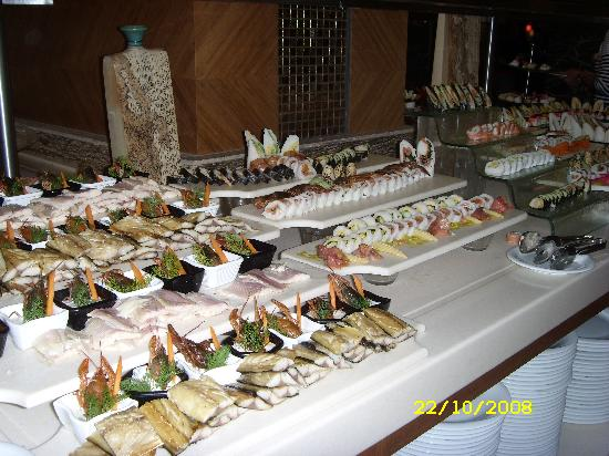 Royal Dragon Hotel : Sushi Buffet