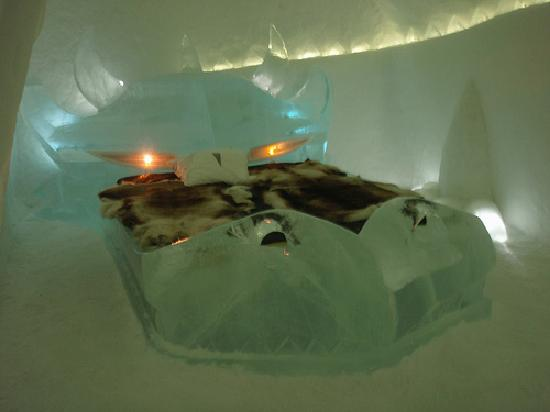 Icehotel : IceBed