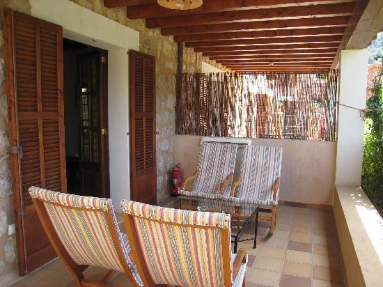 Hotel Apartament Sa Tanqueta: Room 2 Terrace