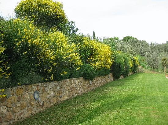 Residenza Il Poggiolo: The beautiful landscaping