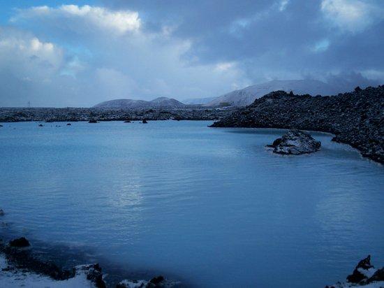 Islandia: blue lagoon