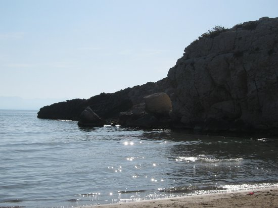 H TOP Molinos Park: little cove a short walk from hotel