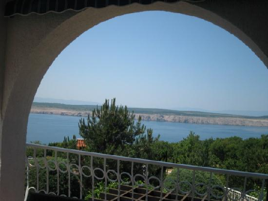 Jadranovo, Kroatia: The view from the Main Balcony