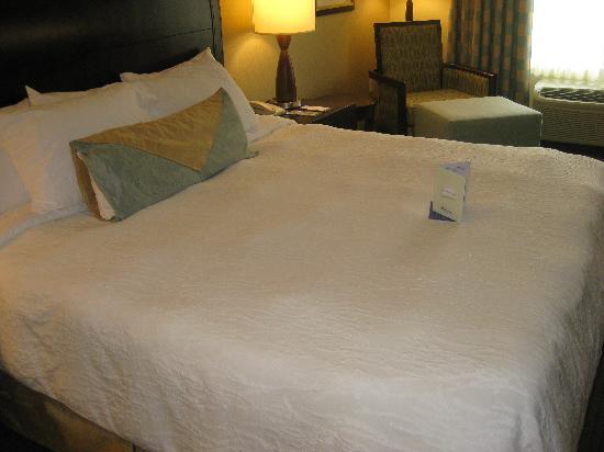 โรงแรมฮิลตันการ์เด้นอินน์ ซีแอตเทิล อิซซาควาห์: The Bed.