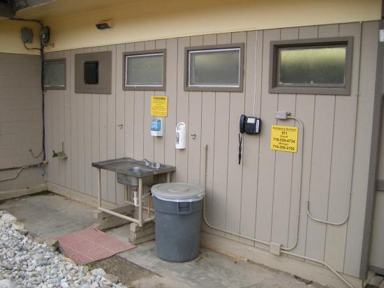 KOA Campground : Dish washing area
