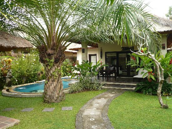 Our private garden and pool luxury picture of furama for Garden pool villa ubud