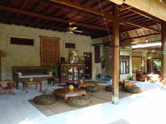 Alam Indah: Reception and Dining Area
