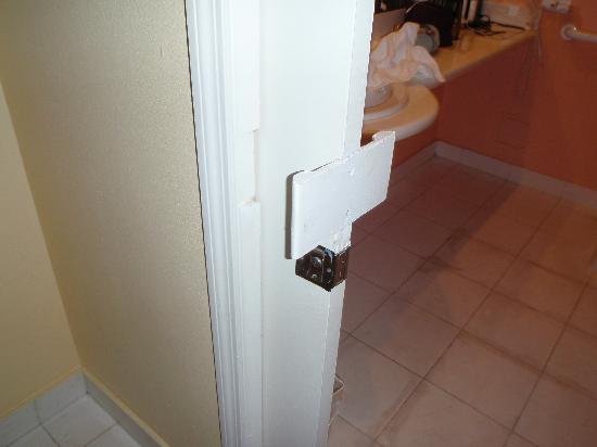 Miami Beach Resort and Spa: I guess the original door handle wasn't good enough.