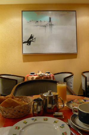Hôtel Astoria Nantes : breakfast