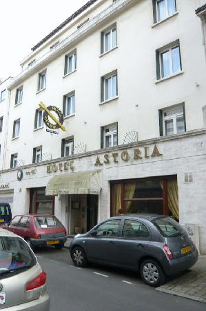 Hôtel Astoria Nantes : street view day