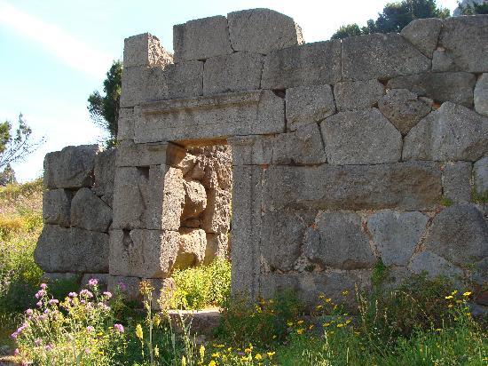La Rocca : Tempio di Diana