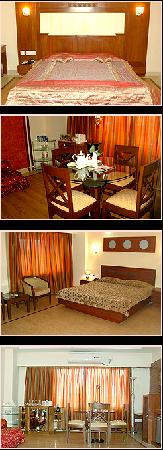 Hotel Nakshatra: Different types of rooms