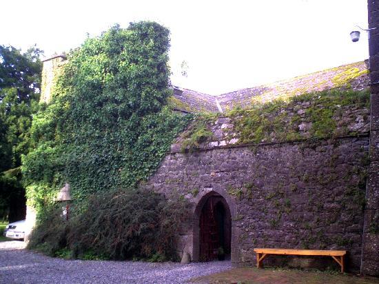 inside gate of Foulksrath Castle