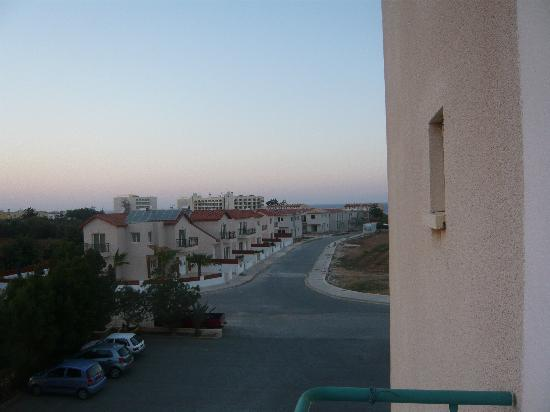Debbie Xenia Hotel Apartments: views from balcony