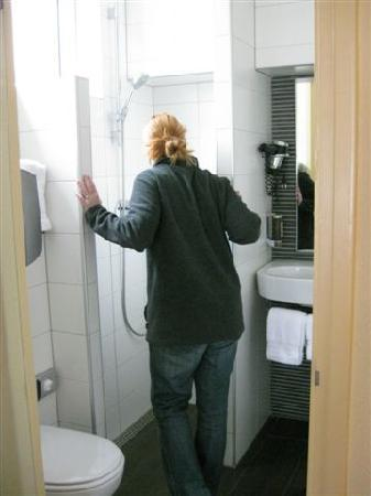 Bathrooms are different than the US - Picture of Hotel Amsterdam ...