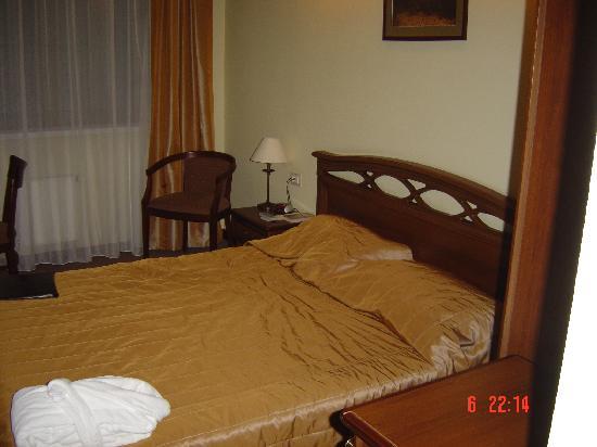 Chichikov Hotel: Das Zimmer
