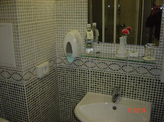 Chichikov Hotel: Das Bad-2