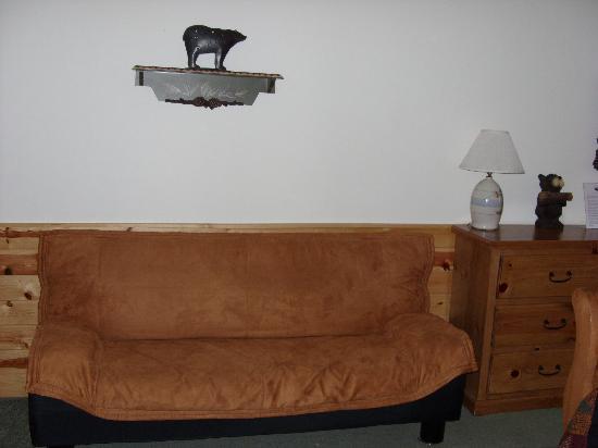 Lindberg Suites: futon
