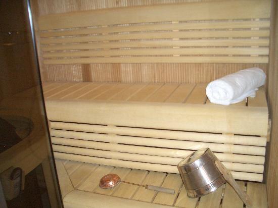 Radisson Blu Hotel, Oulu : Sauna in our room