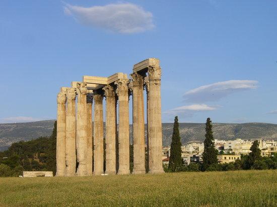 Αθήνα, Ελλάδα: Tempel des Olympischen Zeus