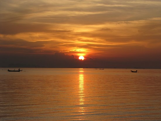 Ko Samui, Thailand: sunset obviously, lol.