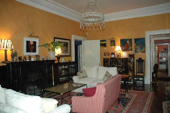 The Mustard Seed at Echo Lodge : drawing room