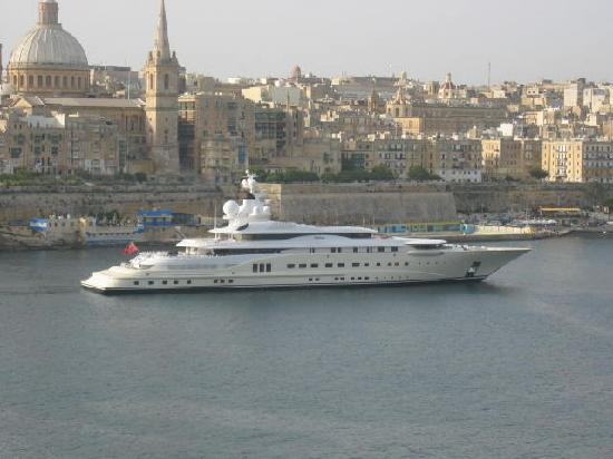 View From Hotel Balcony Of Valletta Picture Of Sliema Island Of