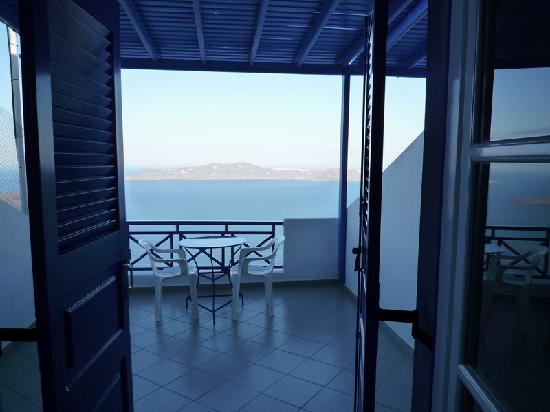 Gaby Apartments: La terrasse avec vue
