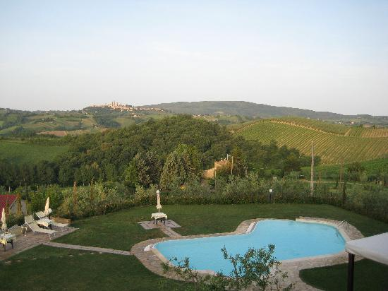 Agriturismo il Girasole: View from upstairs room