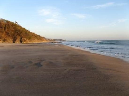 Popoyo, Nicaragua: That´s a view of the beach