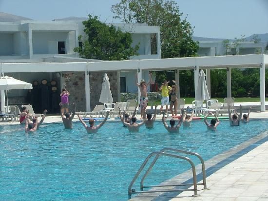 Iria Mare Hotel: pour les plus courageux un peu de gym